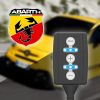 Boîtier additionnel PedalBox pour Abarth - 500 / 595 / 695 (312_) 2008-... - 1.4 (312.AXZ11), 165PS/121kW, 1368ccm