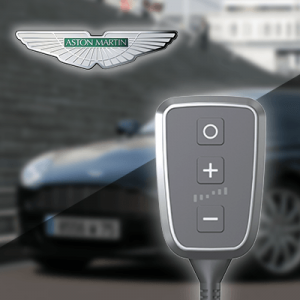Boîtier additionnel PedalBox+ pour Aston Martin - CYGNET 2011-2013 - 1.3, 98PS/72kW, 1329ccm