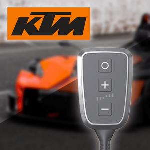Boîtier additionnel PedalBox+ pour Ktm - X-Bow Cabriolet 2008-... - 2.0 R, 300PS/220kW, 1984ccm