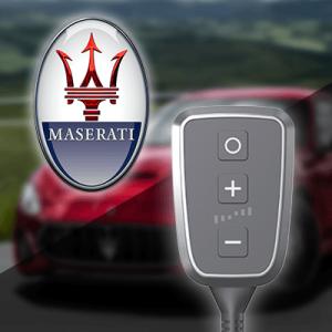 Boîtier additionnel PedalBox+ pour Maserati - GHIBLI (M157) 2013-... - 3.0, 330PS/243kW, 2979ccm
