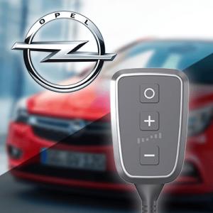 Boîtier additionnel PedalBox+ pour Opel - ADAM 2012-... - 1.0, 90PS/66kW, 999ccm