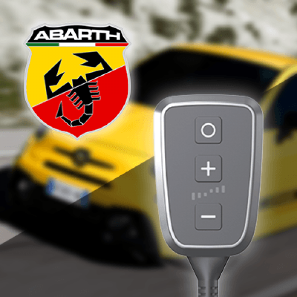 Boîtier additionnel PedalBox+ pour Abarth - 500 / 595 / 695 (312_) 2008-... - 1.4 (312.AXF11), 180PS/132kW, 1368ccm