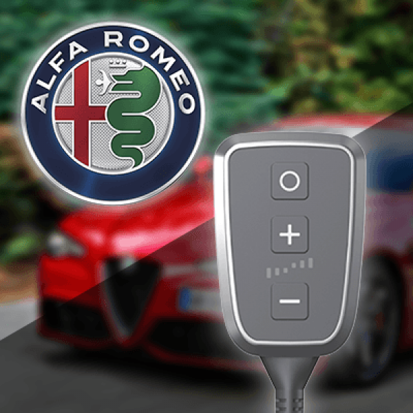 Boîtier additionnel PedalBox+ pour Alfa Romeo - 145 (930_) 1994-2001 - 2.0 16V (930.A5), 155PS/114kW, 1970ccm