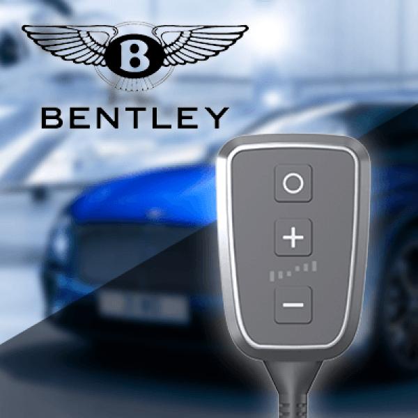 Boîtier additionnel PedalBox+ pour Bentley - CONTINENTAL Coupe (3W_) 2003-... - 4.0 FLEX AWD, 507PS/373kW, 3993ccm